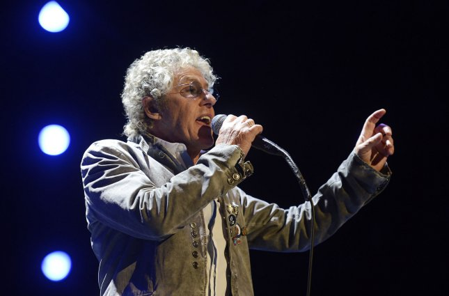 Roger Daltrey of The Who sings as the band kicks off their US tour during a performance at the BB&T Center in Sunrise, Fla,. on Nov. 1, 2012. File Photo by Joe Marino-Bill Cantrell/UPI
