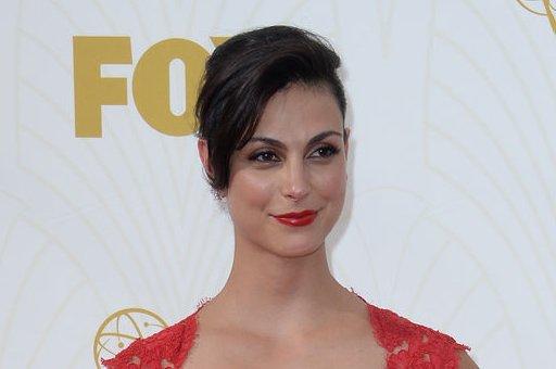 Morena Baccarin at the Primetime Emmy Awards on September 20, 2015. File Photo by Jim Ruymen/UPI
