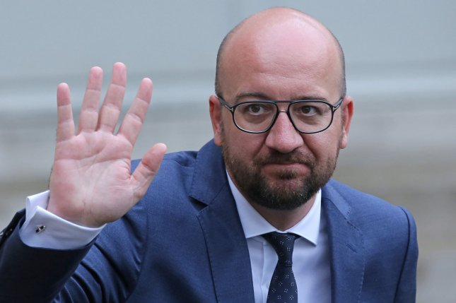 Belgian Prime Minister Charles Michel submitted his resignation to King Philippe. File Photo by David Silpa/UPI.