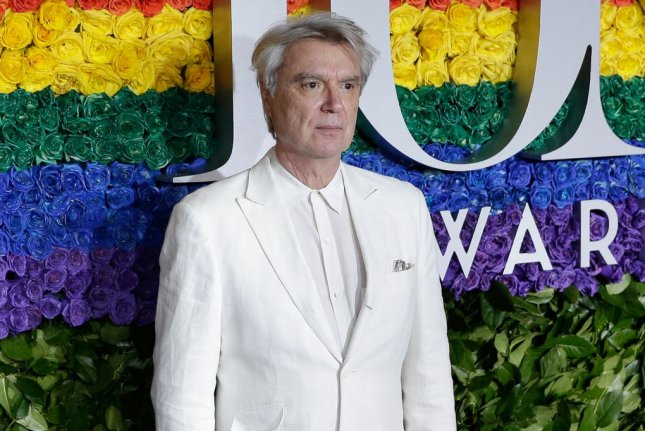 The filmed version of the Broadway show David Byrne's American Utopia, directed by Spoke Lee, will premiere on HBO in 2020. File Photo by John Angelillo/UPI