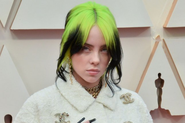 Billie Eilish is scheduled to perform at the 2020 ARIA Awards, along with Sam Smith. File Photo by Jim Ruymen/UPI
