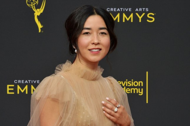 Maya Erskine and Anna Konkle discussed how they became pregnant and gave birth within two months of each other. File Photo by Jim Ruymen/UPI