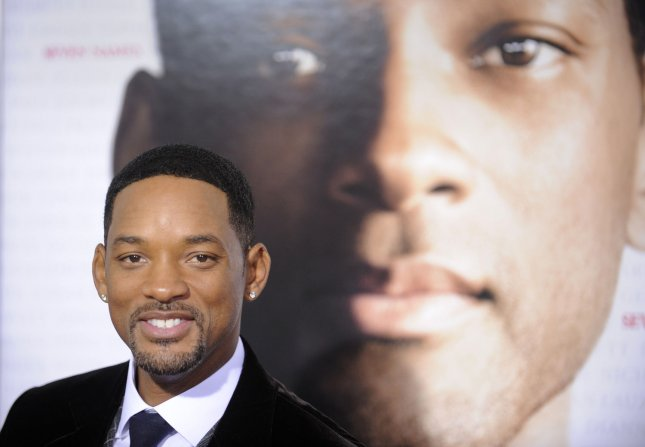 Cast member Will Smith attends the premiere of the film Seven Pounds in Los Angeles on December 16, 2008. (UPI Photo/ Phil McCarten)