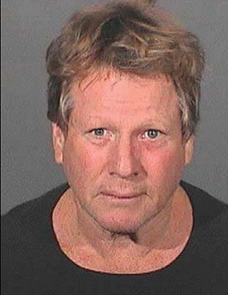 Actor Ryan O'Neal, seen in his mugshot in 2007. (UPI Photo/Los Angeles Sheriff Department/Handout)