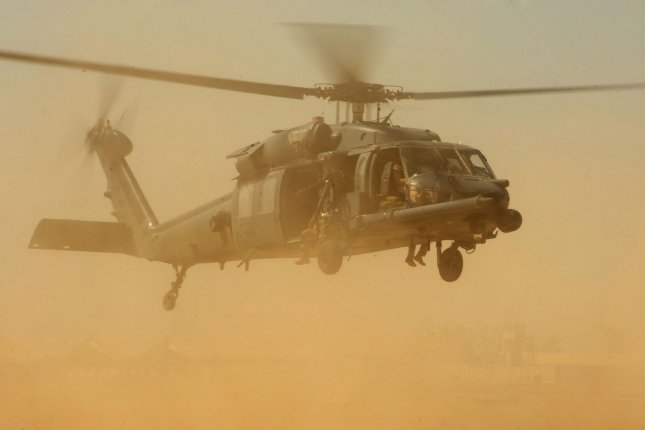 Investigation into U S  Air Force helicopter crashed