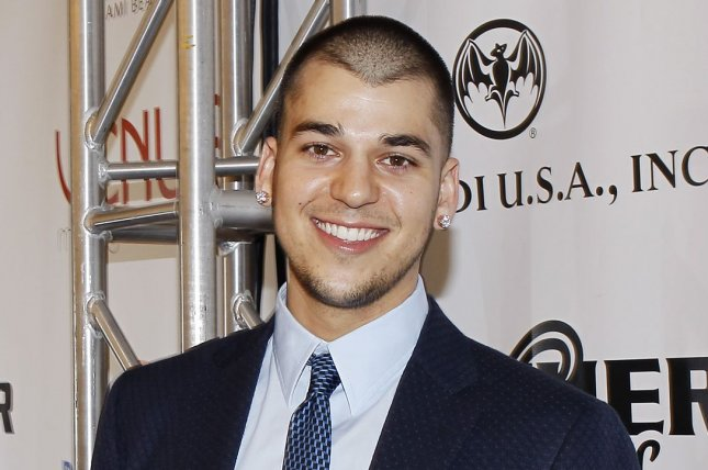 Rob Kardashian at the Leather and Laces party on February 5, 2010. The reality star is reportedly losing weight with girlfriend Blac Chyna's help. File Photo by John Angelillo/UPI