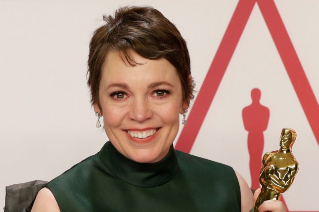 Olivia Colman will be starring in The Father, based on the play of the same name alongside Anthony Hopkins. File Photo by John Angelillo/UPI