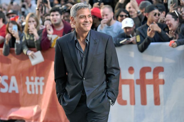 The AARP is set to honor George Clooney with a career achievement award. File Photo by Christine Chew/UPI
