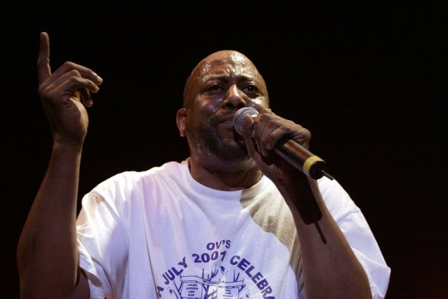Rapper Tone Loc performed on the final night of the annual Beale Street Music Festival on Sunday, May 2, 2004 at Tom Lee Park in Memphis, Tenn. (UPI Photo/Billy Suratt)