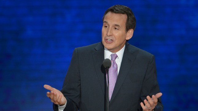 Governor Tim Pawlenty of Minnesota speaks at the 2012 Republican National Convention at the Tampa Bay Times Forum in Tampa on August 29, 2012. UPI/Kevin Dietsch