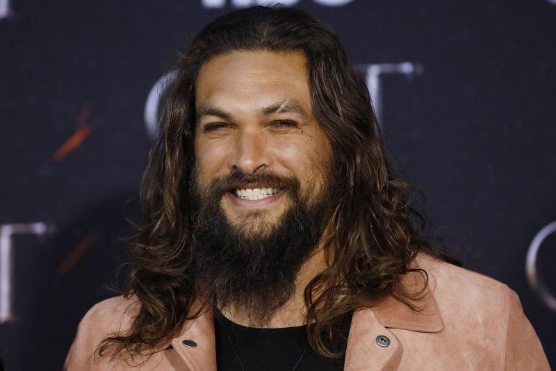 Jason Momoa said he was nervous to play Duncan Idaho in Denis Villeneuve's adaptation of Dune. File Photo by John Angelillo/UPI