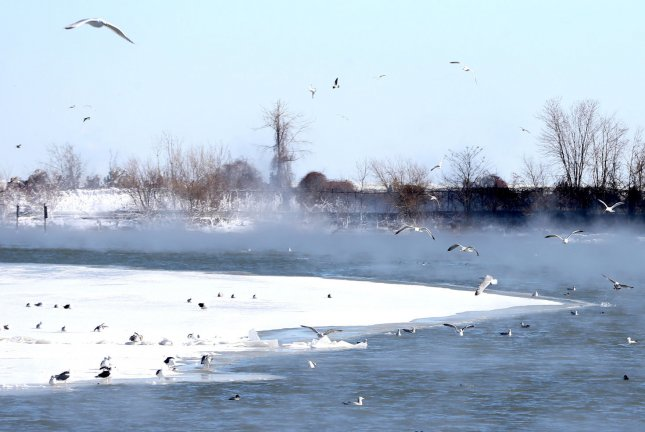 Freeze-thaw events caused by warm spells during winter can increase the risk of drowning. Photo by Aaron Josefczyk/UPI
