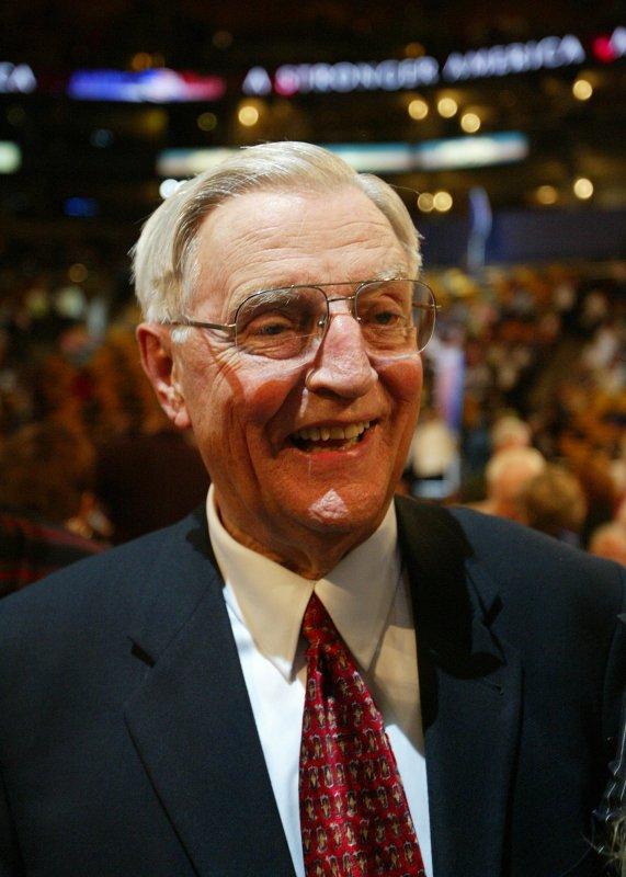File photo of Walter Mondale dated July 28, 2004. (UPI Photo/Bill Greenblatt)
