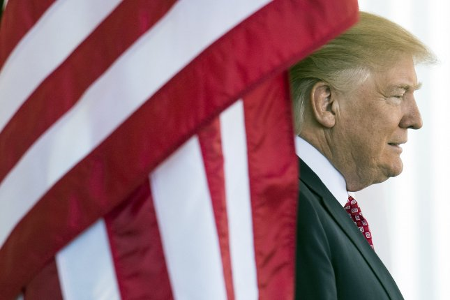 President Donald Trump on Friday said he is confident his government will win the legal battle over his executive order that temporarily bans refugees and certain immigrants from entering the United States -- and promised additional national security measures next week. Photo by Kevin Dietsch/UPI