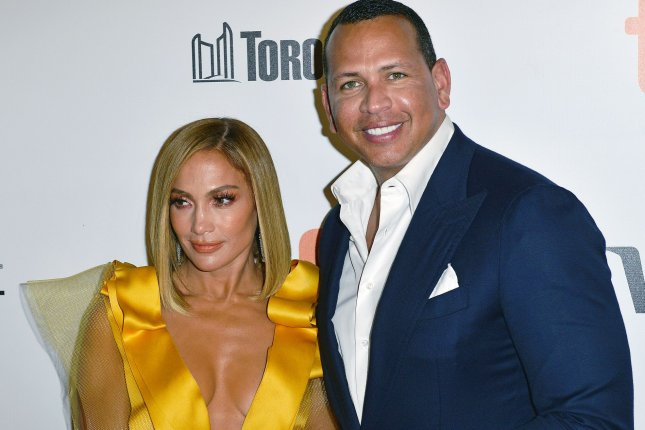 Jennifer Lopez and former MLB star Alex Rodriguez launched the Tiller & Hatch Supply Co. Oct. 21, with a portion of the proceeds from the food sales benefiting shelters and charities working to fight hunger. Photo by Chris Chew/UPI