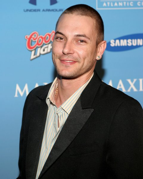 Kevin Federline arrives for the Hotel De Maxim Super Bowl party at the Sagamore Hotel on Miami Beach, on February 2, 2007. (UPI Photo/Martin Fried)