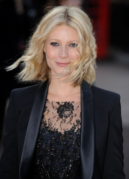 American actress Gwyneth Paltrow attends the premiere of Iron Man at Odeon, Leicester Square in London on April 24, 2008. (UPI Photo/Rune Hellestad)