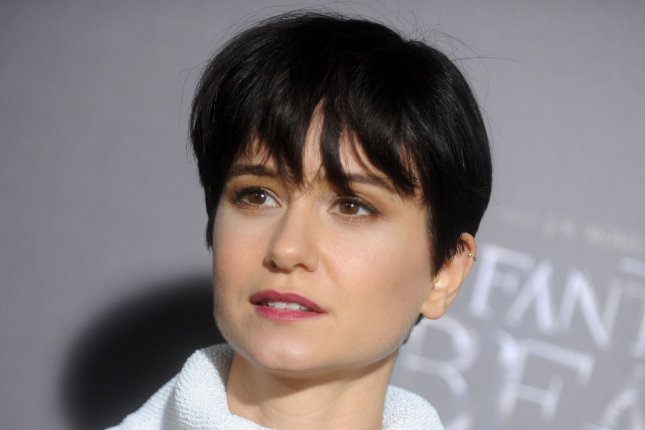 Katherine Waterston arrives on the red carpet at the Fantastic Beasts and Where to Find Them world premiere on November 10, 2016 in New York City. The actress will be seen this spring in Alien: Covenant. File Photo by Dennis Van Tine/UPI