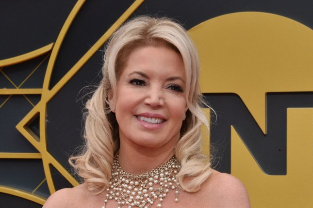 Lakers owner Jeanie Buss also has been the team's president since 2013. Photo by Jim Ruymen/UPI
