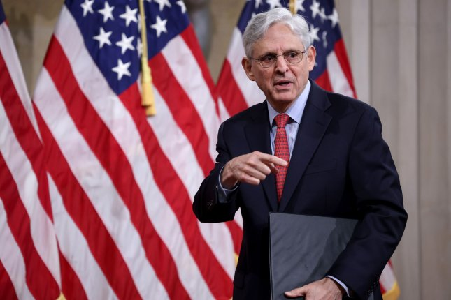 U.S. Attorney General Merrick Garland said the Justice Department will review death penalty policies put in place by the Trump administration. Pool Photo by Win McNamee/UPI