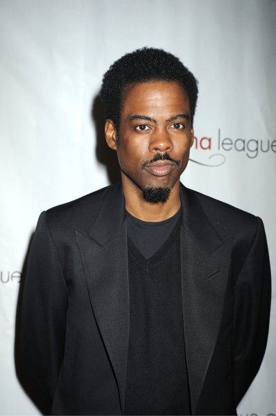 Chris Rock, who listed several attendees of Obama's birthday bash. UPI/Robin Platzer