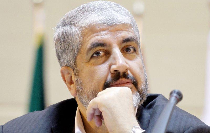 Hamas leader Khaled Mashaal attend the the Fifth International Conference on the Palestinian Intifada in Tehran, Iran on October 2, 2011. UPI/Maryam Rahmanian.