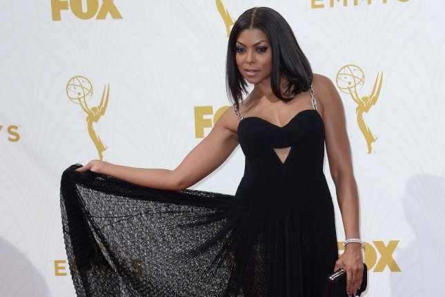 Taraji P. Henson at the Primetime Emmy Awards on September 20. The actress was spotted with NFL free agent Kelvin Hayden in Miami, Fla., this week. File Photo by Jim Ruymen/UPI