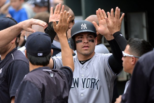 New York Yankees outfielder Jacoby Ellsbury was released by the team earlier this week. He hasn't played since the 2017 season. File Photo by Kevin Dietsch/UPI