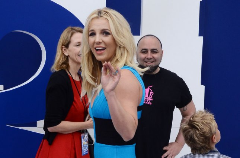 Britney Spears. UPI/Jim Ruymen