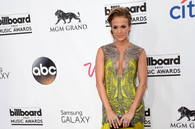Carrie Underwood. UPI/Jim Ruymen
