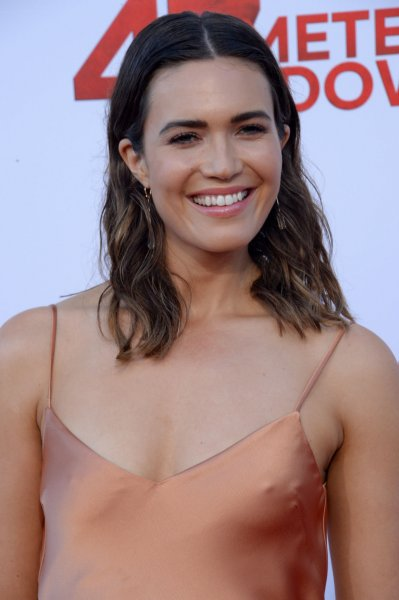 Mandy Moore attends the Los Angeles premiere of 47 Meters Down on June 12. The actress plays Rebecca Pearson on This is Us. File Photo by Jim Ruymen/UPI