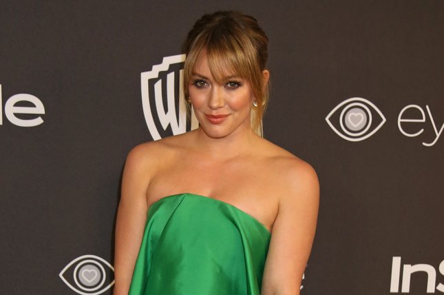Hilary Duff enjoyed a beach day with son Luca amid her second pregnancy. File Photo by David Silpa/UPI