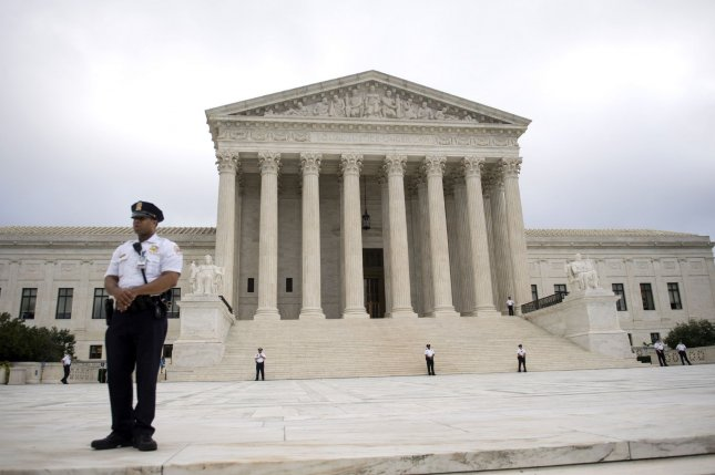 The Supreme Court issued a temporary stay until December 13. File Photo by Kevin Dietsch/UPI