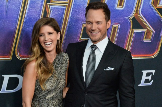 Katherine Schwarzenegger (R) and Chris Pratt are expecting their first child together. File Photo by Jim Ruymen/UPI