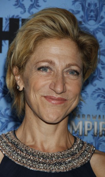 Edie Falco is to serve as co-host of this month's Gotham Independent Film Awards. UPI /Laura Cavanaugh