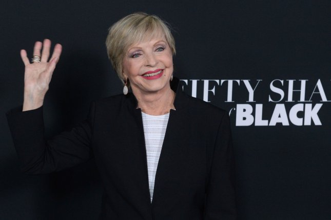 Cast member Florence Henderson attends the premiere of the motion picture comedy Fifty Shades of Black in Los Angeles on January 26. The actress died on Nov. 24 at the age of 82. File Photo by Jim Ruymen/UPI