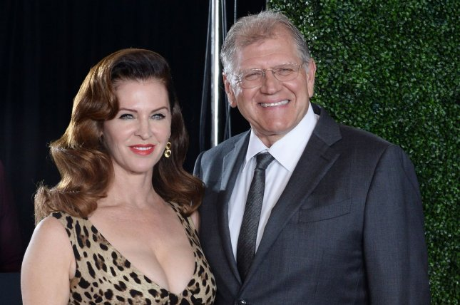 Director Robert Zemeckis and his wife Leslie Harter Zemeckis attend the premiere of the motion picture romantic war thriller Allied in Los Angeles on November 9, 2016. Robert Zemeckis is working on a UFO drama for History. File Photo by Jim Ruymen/UPI