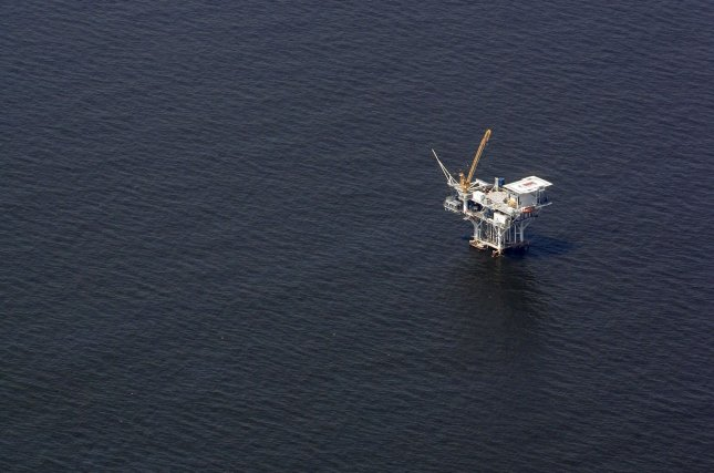 About 30 percent of the total production capacity in the Gulf of Mexico is still offline because of Hurricane Nate, the U.S. Energy Department said. File photo by A.J. Sisco/UPI
