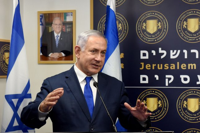 Israeli Prime Minister Benjamin Netanyahu is up for re-election next week. File Photo by Debbie Hill/UPI