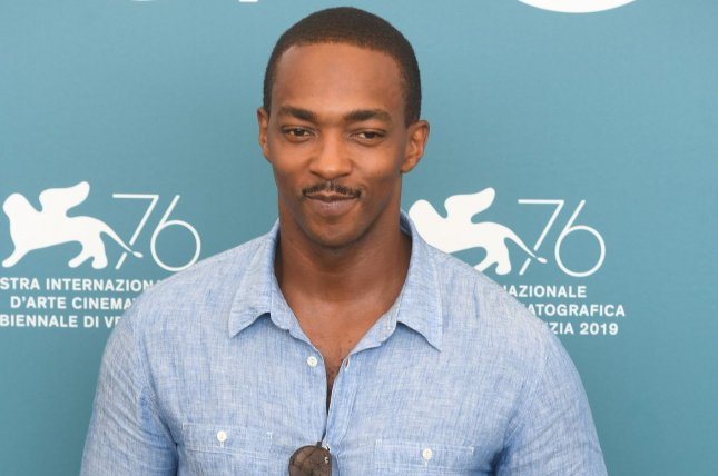 Altered Carbon star Anthony Mackie attends a photo call for Seberg at the 76th Venice Film Festival on August 2019. Netflix has canceled the series after two seasons. File Photo by Rune Hellestad/UPI