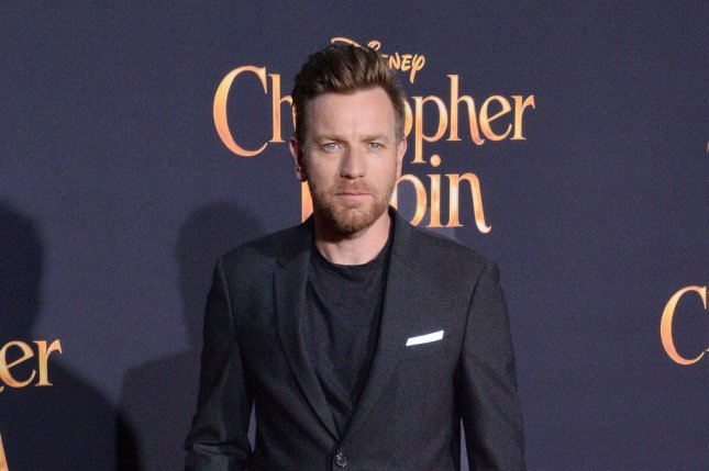 Ewan McGregor attends the premiere of Christopher Robin at Walt Disney Studios in Burbank, Calif., on July 30, 2018. The actor turns 50 on March 31. File Photo by Jim Ruymen/UPI