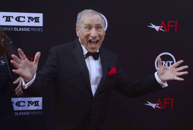 Director Mel Brooks attends the 41st AFI Life Achievement Award tribute to Brooks at the Dolby Theatre in the Hollywood section of Los Angeles on June 6, 2013. UPI/Jim Ruymen