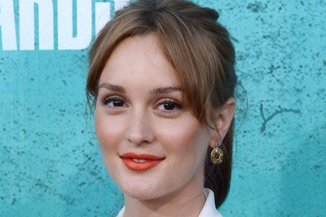 Actress Leighton Meester arrives at the MTV Movie Awards at the Gibson Amphitheatre in Universal City, California on June 3, 2012. UPI/Jim Ruymen