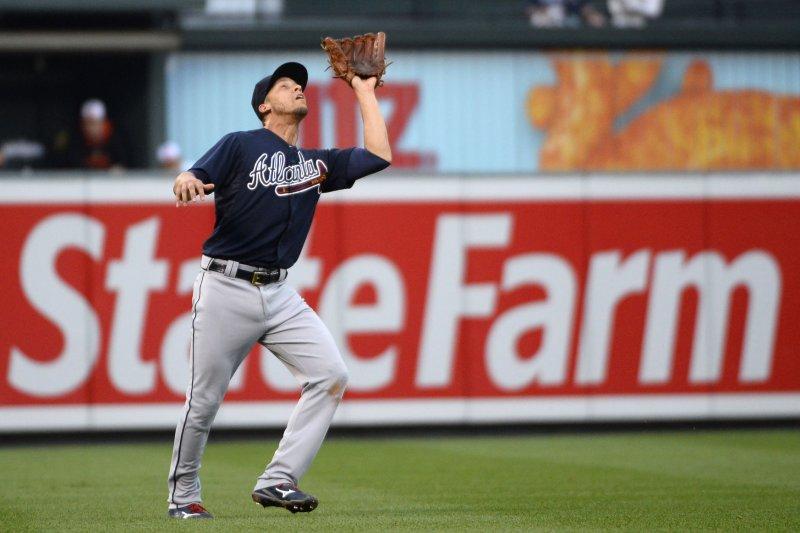 Atlanta Braves shortstop Andrelton Simmons. Photo by David Tulis/UPI