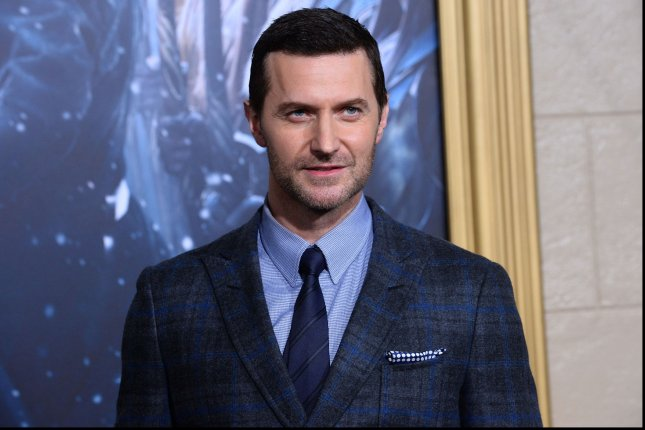 Actor Richard Armitage attends the premiere of the motion picture fantasy The Hobbit: The Battle of the Five Armies in Los Angeles on Dec. 9, 2014. Photo by Jim Ruymen/UPI