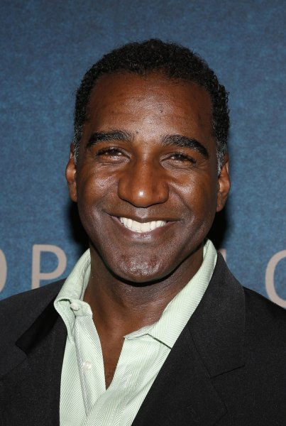 Norm Lewis arrives on the red carpet at the Les Miserables premiere in New York City on December 10, 2012. He is returning to the New York stage in the role of Sweeney Todd this spring. File Photo by John Angelillo/UPI