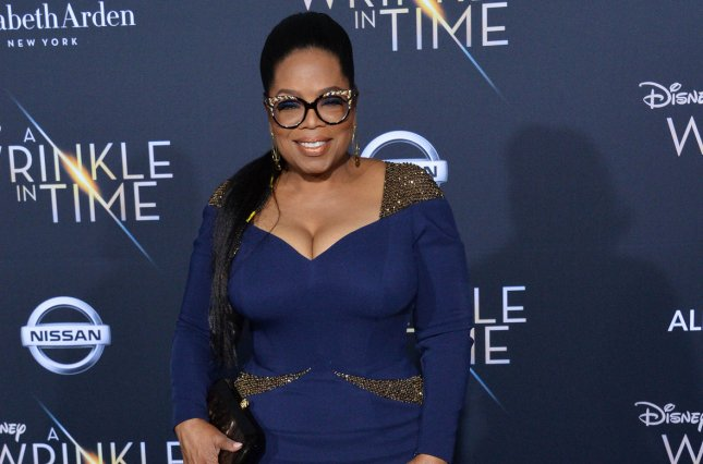 Oprah Winfrey and other celebrities including Ryan Reynolds and Emilia Clarke have signed an open letter calling for an end to poverty and gender inequality. File Photo by Jim Ruymen/UPI