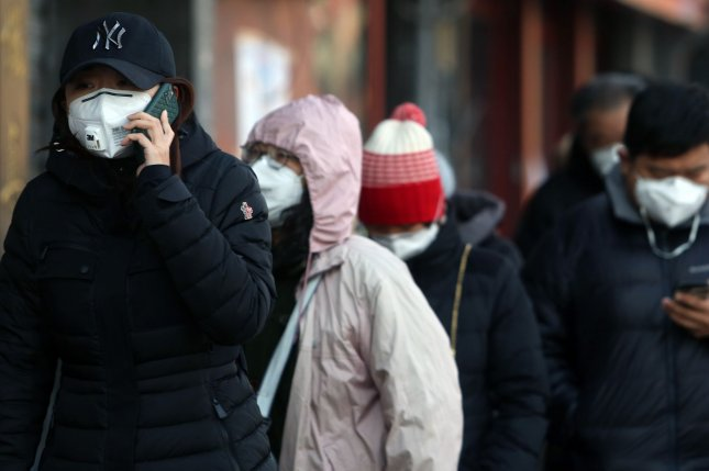 South Korea reported a record number of coronavirus cases on Wednesday, as opposition lawmakers called for further restrictions against travelers from China. File Photo by Stephen Shaver/UPI