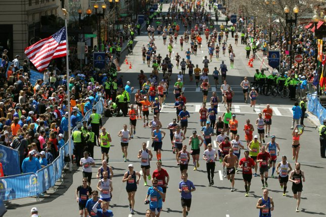 The 2020 Boston Marathon had been scheduled for April 20, but has been moved to Sept. 14. File Photo by Matthew Healey/UPI