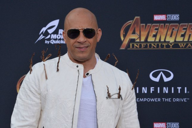 Vin Diesel's F9 is the No. 1 movie in North America this weekend. File Photo by Jim Ruymen/UPI